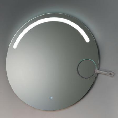 miroir de salle de bain rétroéclairé led vanità e casa venus tondo