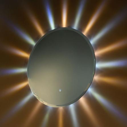 miroir de salle de bain rétroéclairé led vanità e casa sole