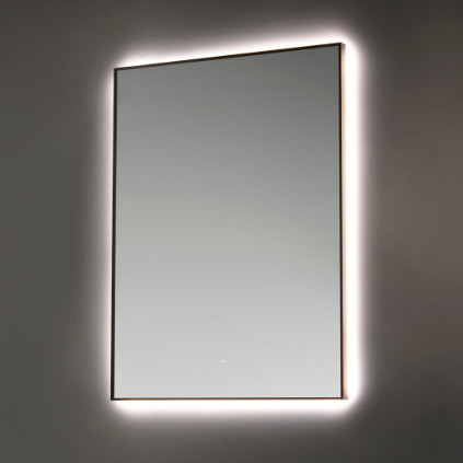 miroir éclairé led salle de bain vanità e casa calipso