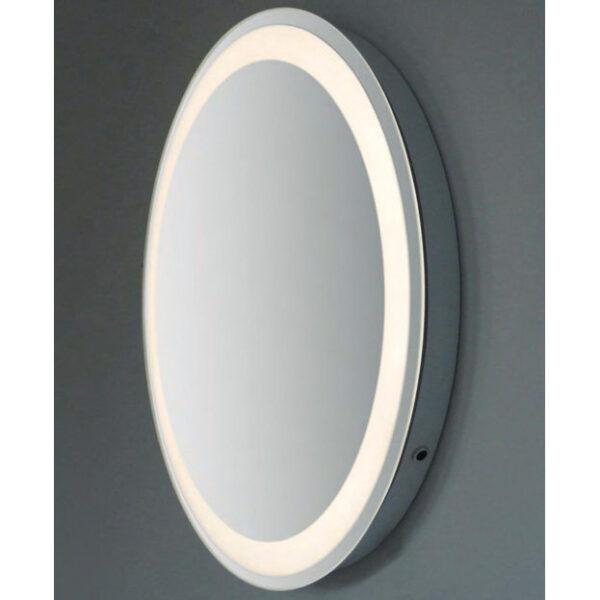 specchio tondo illuminato led vanità e casa pluto round